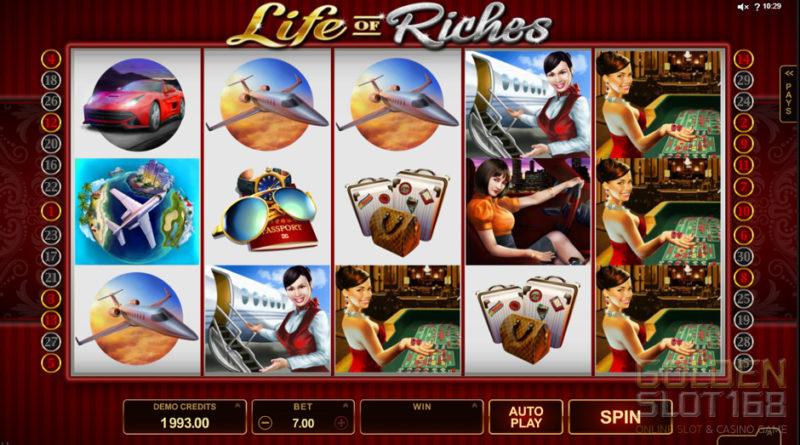 Life of Riches Slot เกมส์สล็อตออนไลน์แบบ 5 Reel